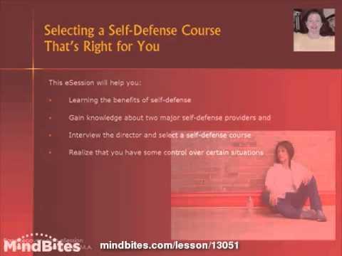 Selecting a Self Defense Course
