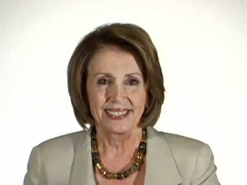 Nancy Pelosi Examines Washington's Dearth of Big Ideas