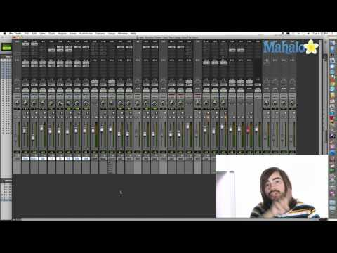 Overview Mix Window - Pro Tools 9