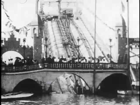 Shooting the chutes, Luna Park, Coney Island