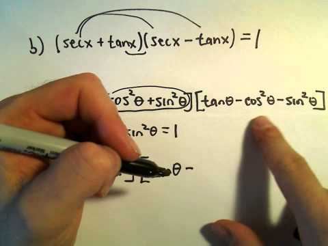 Simplifying Products of Binomials Involving Trigonometric Functions, Ex 2