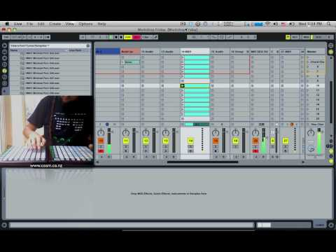 Tom Cosm Novation Launchpad Jam (Week 2)