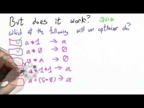 Optimizer Check Solution - CS262 Unit 6 - Udacity
