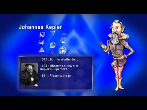 Top 100 Greatest Scientist in History For Kids(Preschool) - JOHANNES KEPLER