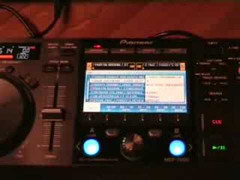 Pioneer MEP-7000 with DJS video 1