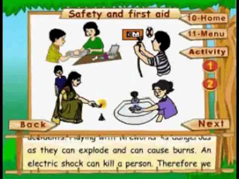 Safety And First Aid - Kids Animation Learn Series