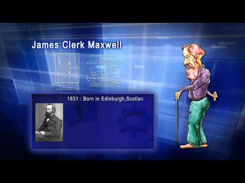 Top 100 Greatest Scientist in History For Kids(Preschool) -  JAMES CLERK MAXWELL