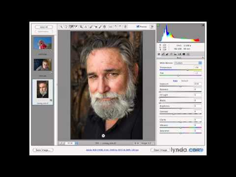Photoshop: White balancing in Adobe Camera Raw | lynda.com