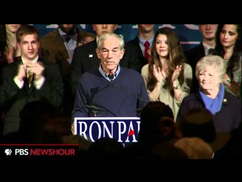Watch Ron Paul's Speech After Florida Primary: 'We've Only Gotten Started'
