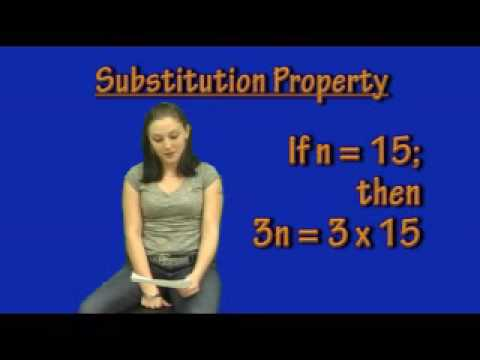 Substitution Property