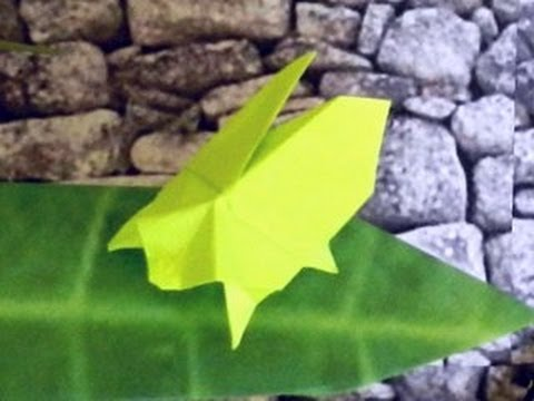 Sticky Note Origami Bug