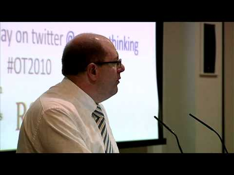 Open Thinking introduction by Martin Crewe, Barnardo's