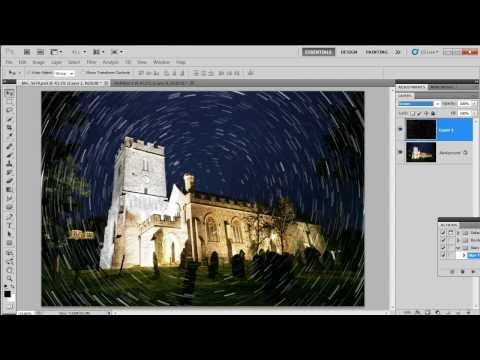 Star Rotation Effect - Photoshop CS5 New Action.