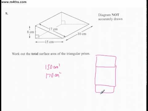 q9 Edexcel Linear Higher June 2011 calculator (quick worked example)