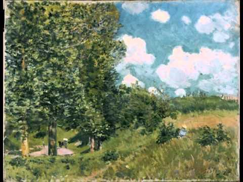 The Road from Versailles to Saint-Germain, Alfred Sisley
