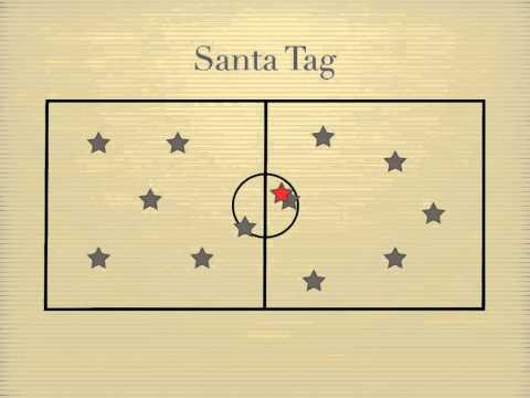 Physical Education Games - Santa Tag