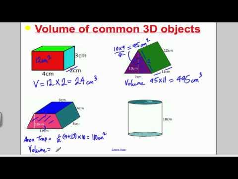 Volume 1 (GCSE Higher Maths)- Tutorial 9