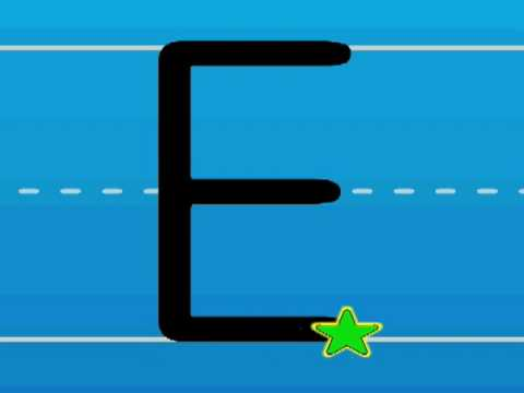 Print the Letter E with Hooked on Phonics Learn to Read