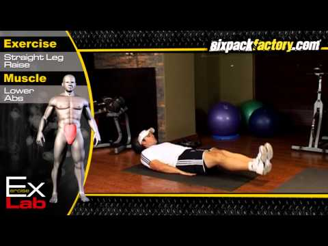 Straight Leg Raise: Best Lower Ab Exercises
