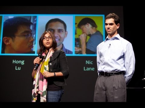 Tanzeem Choudhury and Ethan Berke: Measuring wellness with mobiles