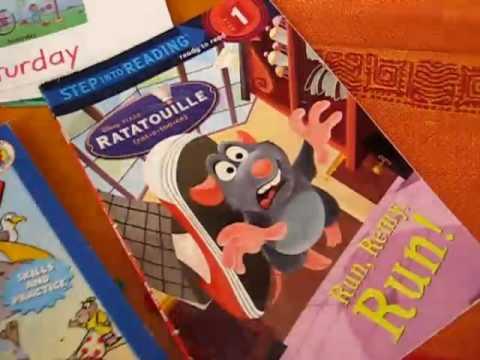 Preschool - Reading. reading folders