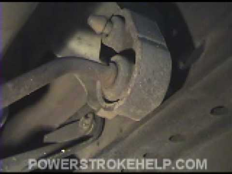 POWERSTROKE EXHAUST INSTALL 6.0 OR 7.3    1 OF 2