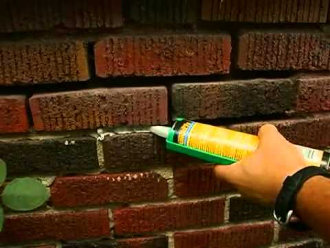 Repair Brick Wall Mortar