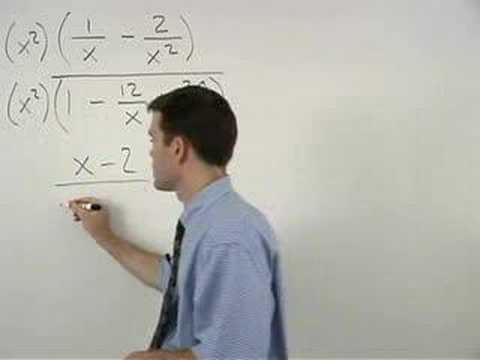 Simplifying Complex Fractions - YourTeacher.com - Algebra Help