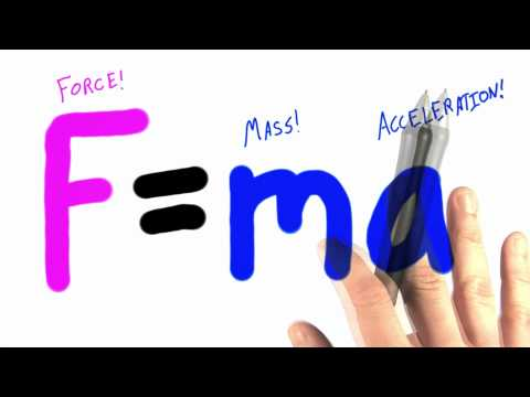 The Equation Solution  - Intro to Physics - What causes motion - Udacity