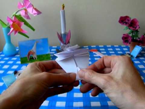 Origami Panda Bookmark