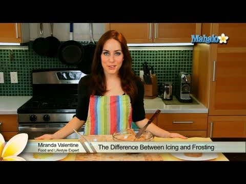 The Difference Between Icing and Frosting