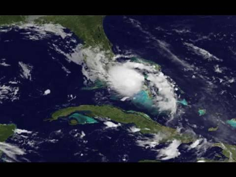 NASA/NOAA | Tropical Storm Bonnie Strengthens Over Florida