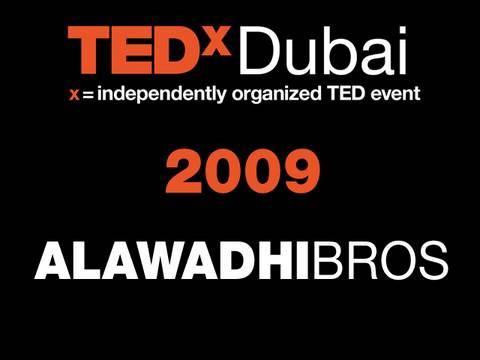 TEDxDubai - Al Awadhi Brothers - 10/10/09