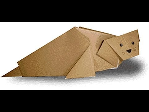 Origami Daily - 376: Sea Dog (Lion) - TCGames [HD]