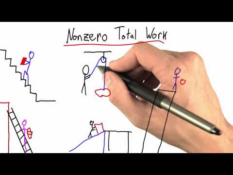 Nonzero Total Work - Intro to Physics - Work and Energy - Udacity