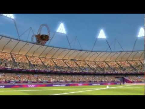 Olympic Park CGI Fly-through - London 2012
