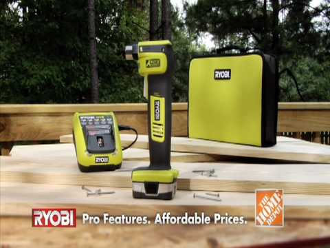 Ryobi Auto Hammer exclusively at The Home Depot