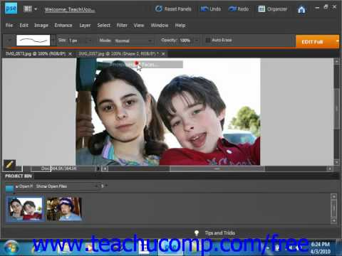 Photoshop Elements 9.0 Tutorial The Photomerge Tool Adobe Training Lesson 13.14