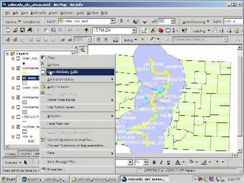 Siting a Ski Area in Colorado:  Lesson Using Spatial Analysis and GIS:  Chapter 6