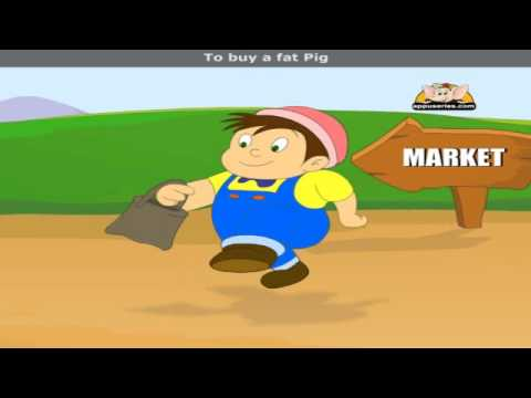 To Market To Market - Nursery Rhyme with Lyrics