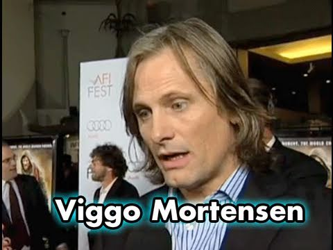Viggo Mortensen Talks About His Role In THE ROAD