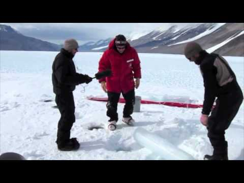 The World: Drilling down in an Antarctic glacier