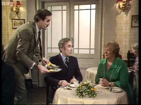 Prawns are off - Fawlty Towers - BBC
