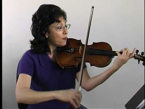 "Violin Lesson - Song Demo - ""Twinkle Twinkle"" in C major"