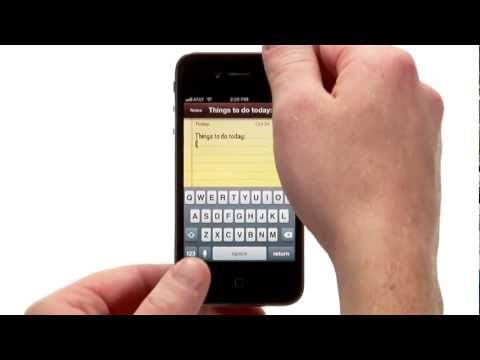 Typing tips for the iPhone | lynda.com tutorial