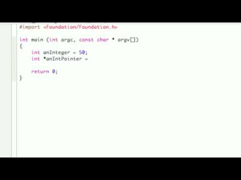 Objective-C Tutorial - Lesson 6: Pointers