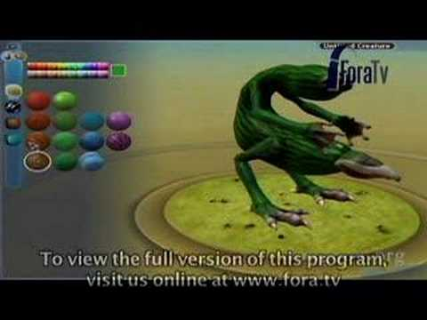 Will Wright and Brian Eno - Spore Creature Demo