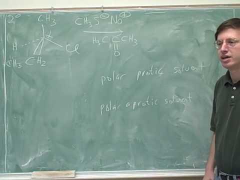 Organic chemistry: E2 reactions (11)