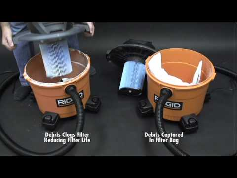 RIDGID Wet/Dry Vac Advantages - The Home Depot
