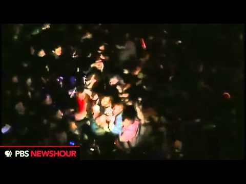 Raw Video: Crowds in Egypt React to President Mubarak's Speech